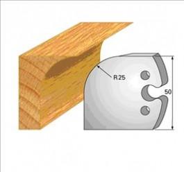 contre-fers 1218 congé rayon 25mm