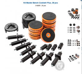 Kit Master Bench Cookie® Plus 28 pieces