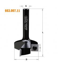 CMT : Fraise a surfacer 34,9 mm - queue 8 mm