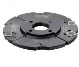 CMT : porte outils a rainurer 160 mm / 4 à 15 mm - alesage 50 mm