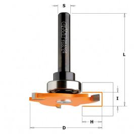 CMT  : Fraise carbure à rainer 4 mm Guidage - queue 8 mm