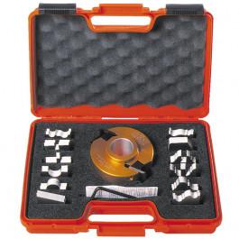 Coffret porte outils 40mm 4 jeux de fers 40 mm pour toupie alesage 30 mm