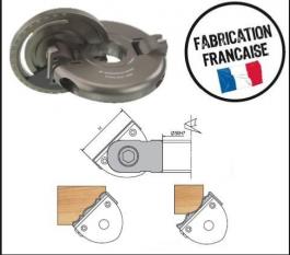 ELBE : Porte-outils multipentes inclinable + régleur al : 30 mm
