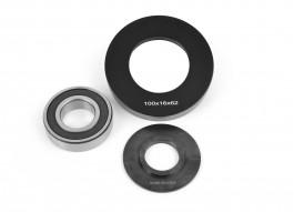 Guide a bille 100 mm avec roulement al: 30 mm