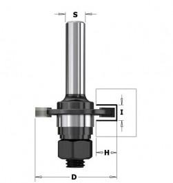 CMT Contractor : Fraise carbure à rainer 4 mm - queue 8 mm