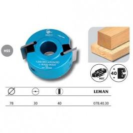 Leman : Porte outils à profiler 78 x 40 mm al: 30mm