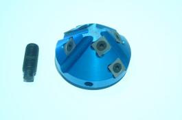 ZAK : Porte outils coupe d'onglets 45° bout arbre