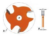 Disque rainure latérale 1,5mm CMT série 822