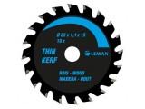 Leman - Lame de scie circulaire portative fine 85x15mm 16 dents