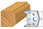 fers 40mm 002 1/4 de rond tarabiscot