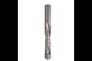 CMT : Fraise carbure hélicoidale Négative 12,7 mm -  guidage - Queue 12,7 mm