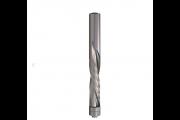 CMT : Fraise carbure hélicoidale Négative 12,7 mm - Queue 12,7 - Guidage