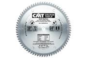 CMT : Lame carbure 250 z= 72 matériaux composites