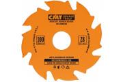 CMT : Lame 100 mm pour fraiseuse à lamelles Z = 8 - Virutex / porte cable