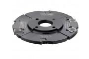 CMT : porte outils a rainurer 140 mm / 4 à 15 mm - alesage 30 mm