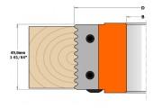 CMT : jeu de 2 plaquettes bouvetage porte outils cmt - 694