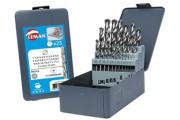 Coffret 19 forets métaux meulés PRO
