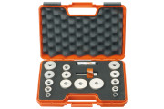 CMT : Kit Maxi fraise carbure à feuillure 19 mm + roulements Q = 12,7 mm