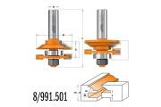 CMT : Fraise carbure profil / contre profil Q = 12 mm - 991.501.11