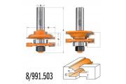 CMT : Fraise carbure profil / contre profil Q = 12 mm - 991.503.11 - destockage