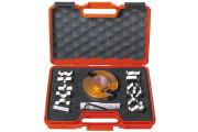 CMT : Porte outils 40 mm diametre 100 mm + 13 jeux de fers
