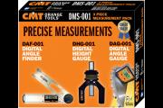 CMT : 3 appareils de reglage DAG-001 / DHG-001 / DAF-001