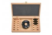 Coffret P.O. à profiler 90x50 alesage 30mm + 4 jeux de fers