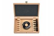 Coffret P.O. à profiler 78x40 al: 30mm + 7 jeux de fers