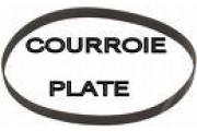 Courroie plate 392 x 15  Lurem