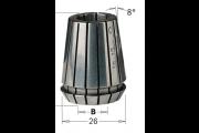 Pince de serrage ER25 10 mm pour mandrin CNC