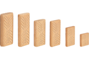 Domino hêtre 5 x 30