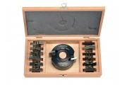 Coffret P.O. à profiler 96 mm alesage 30mm + 13 jeux de fers