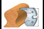 jeu de fers 60 mm main courante ref 6004