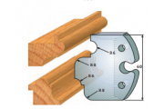 jeu de fers 60 mm baguette ref 6006