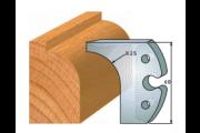 jeu de fers 60 mm quart de rond 25 mm ref 6010
