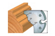 jeu de fers 60 mm moulure  ref 6012