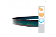 Lame ruban trempée 3380 x 6 x 0.5 NV6 - bois plastique