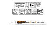 CMT lame scie sabre 150mm coupe palette par 5