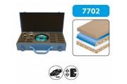 Leman - Coffret porte-outils à profiler 12 paires de fers ht 50 mm