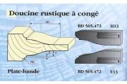 Le Ravageur : Plate bande doucine rustique DOS 565472