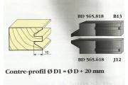 Le Ravageur : contre profil chanfrein 6mm DUS 565818