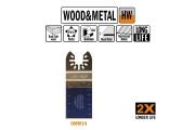 CMT-11 : Lame carbure 35 mm plongeante et de coupe à ras / bois -