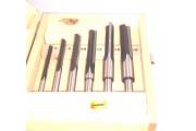 6 mèches à mortaiser Q= 10mm Kity à gauche