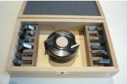 Coffret P.O. à profiler 78x40 al: 30mm + 13 jeux de fers