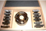 Coffret P.O. à profiler 90x50 alesage 30mm + 13 jeux de fers