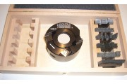 Coffret P.O. à profiler 90x50 alesage 30mm + 7 jeux de fers