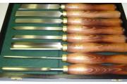 Crown : Coffret 8 outils de tournage bois - en coffret bois