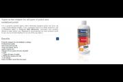 Blanchon : polish remover 1 litre parquet vitrifié