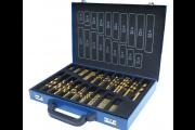 Coffret de 170 forets HSS métal de 1 à 10 mm