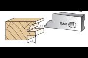 560210 : Jeu de 2 fers Multizak 1/4 de rond 7 mm + carré